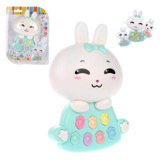 Развивающая игрушка Веселый кролик, свет, звук, эл.пит. АА*2 не вх.в комплект, блистер