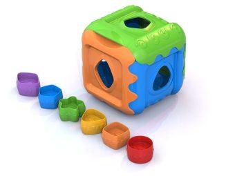 Логическая игрушка Кубик, в асс-те
