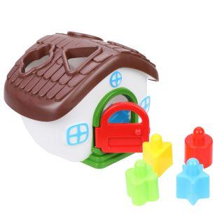 Логическая игрушка Теремок
