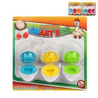 Сортер-яйцо, набор 6 предм., блистер