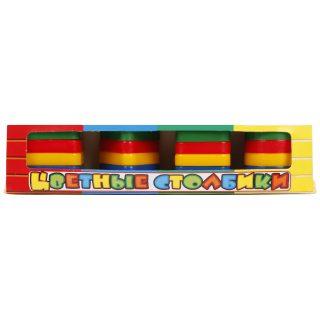Цветные столбики