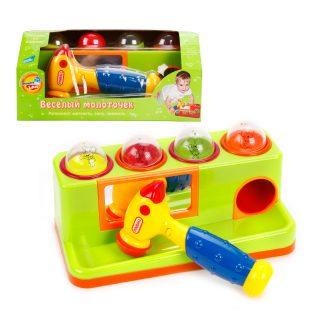 Развивающая игрушка Веселый молоточек