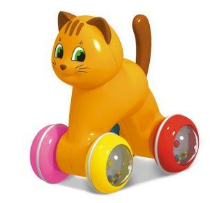 Игрушка-покатушка Котик
