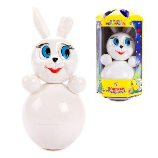 Игрушка-неваляшка Кролик, 22 см, в асс-те