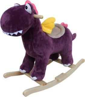 Динозаврик-качалка 74 см, звук, эл.пит.LR44*3шт.вх.в комплект