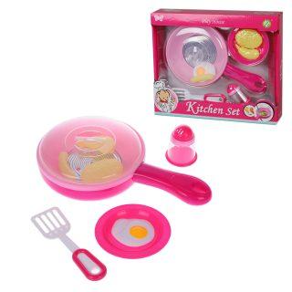 Игровой набор Кухонные принадлежности, свет, звук, в компл. 9 предм., бат.AAA*2шт.в компл.не вх.,кор