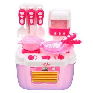 Игровой набор Плита с  посудой, комплектность 21 предм., в ассорт., кор.