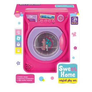 Игрушка Бытовая техника стиральная машина, звук, бат.AA*2шт. в компл.не вх., кор.