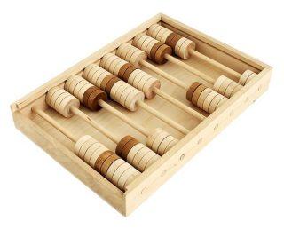 Счеты детские деревянные