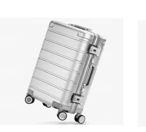 Чемодан Xiaomi Metal Carry-on Luggage 20 серебристый