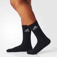 Носки adidas 3-Stripes Performance Crew Half-Cushioned Socks 1 Pack чёрные