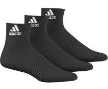 Носки adidas Performance Ankle Thin Socks 3 Pairs чёрные