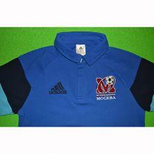 Футболка-поло adidas Condivo 16 FC Moscow синяя