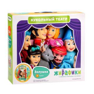 """Кукольный театр """"Золушка"""", 7 кукол"""