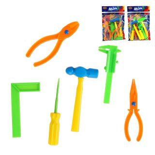 Игр.набор инструментов 6 предметов, в ассортименте