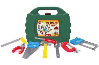 Набор Инструментов 10 предметов в кейсе
