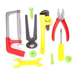 Набор инструментов, 10 предметов, пакет