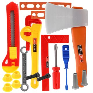 Набор инструментов, предметов 17шт., пакет