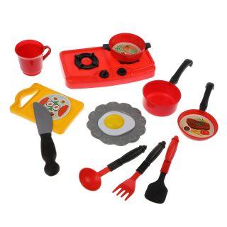 Игровой набор Посуда, в компл. 12/13 предм., в ассорт., пакет
