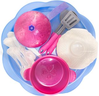 Набор посуды Волшебная Хозяюшка , 23 предмета на подносе