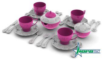 Набор посуды Волшебная Хозяюшка,24 предмета