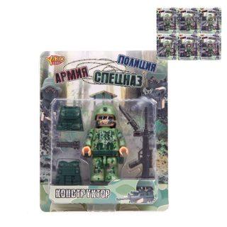 Игр.набор Армия, фигурка 9 см, оружие, аксессуары, в ассортименте