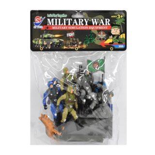Игровой набор Военный, фигурки, техника, аксессуары, пакет