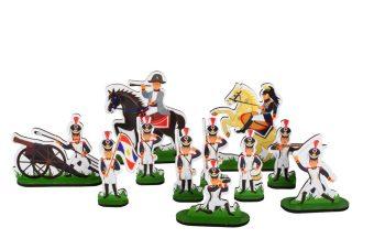 Набор солдат Наполеон, 12 героев