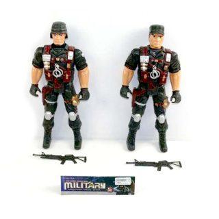Фигурка Военный полицейский, оружие., в асс. пакет.