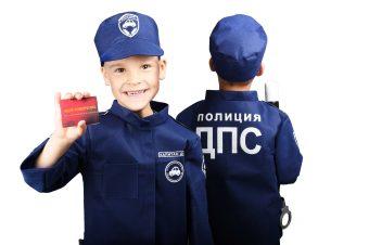 Набор ДПС 1 (куртка, кепка, жезл, удостоверение)