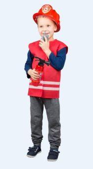 Набор МЧС №2 в чехле, жилет, огнетушитель, каска, рация