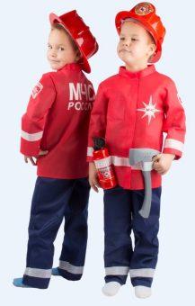 Набор МЧС №3 в чехле, куртка, штаны, огнетушитель, рация, каска, топор, лом