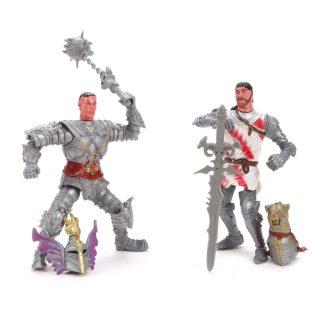 Набор фигурок Рыцарь с оружием, 2 шт., в ассортименте