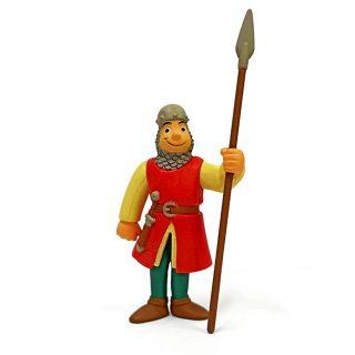 Фигурка Cредневековый воин с копьем, пакет