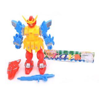 Фигурка Робот со светом, аксессуары 2 шт., пакет