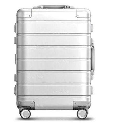 Чемодан Xiaomi 90 Points Metal Luggage 20 (XNA4034RT) серебристый