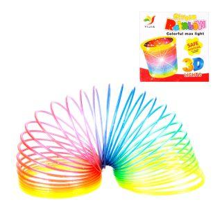 Игра-слик Летняя радуга, 6,5*5,5 см, с блестками, коробка
