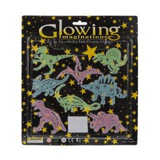 Набор Светлячки - динозаврики 8 шт., флуоресцент., блистер