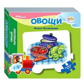 Книжка-игрушка Mini Овощи стихи