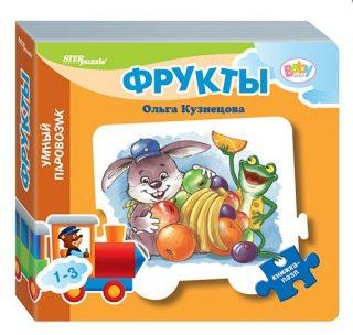 Книжка-игрушка Mini Фрукты стихи