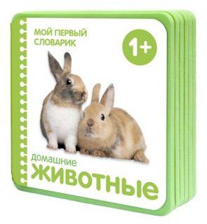 Книжка Мой первый словарик Домашние животные