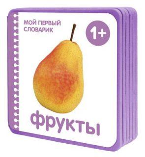 Книжка Мой первый словарик Фрукты