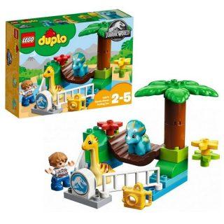 Констр-р LEGO Duplo Jurassic World Парк динозавров