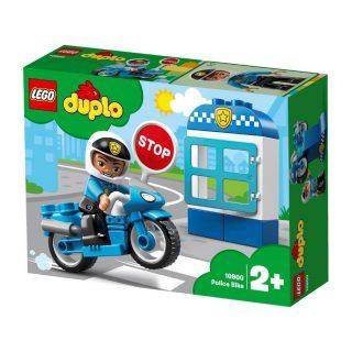 Констр-р LEGO DUPLO Town Полицейский мотоцикл