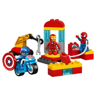 Констр-р LEGO Дупло Super Heroes Лаборатория супергероев