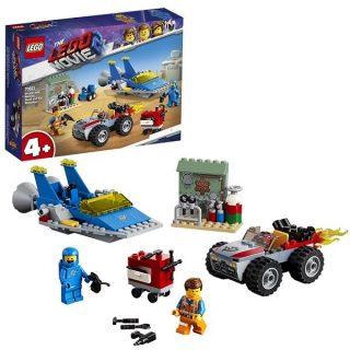 Констр-р LEGO Movie Мастерская Строим и чиним Эммета и Бенни!