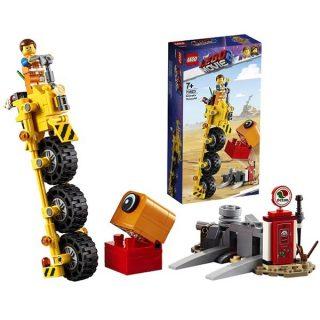 Констр-р LEGO Movie Трехколёсный велосипед Эммета!