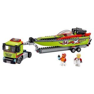 Констр-р LEGO Город Great Vehicles Транспортировщик скоростных катеров