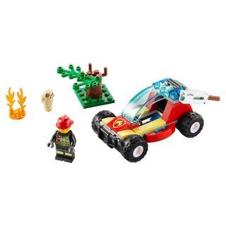 Констр-р LEGO Город Лесные пожарные