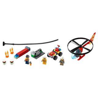 Констр-р LEGO Город Пожарный спасательный вертолёт